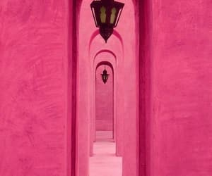 door, aesethic, and pink image
