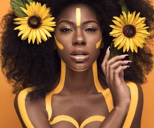 yellow, flowers, and beautiful image
