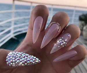 nails, nail inspo, and nail goals image