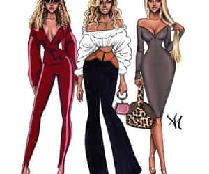 beyonce art, queen bey, and beyonce knowles carter image