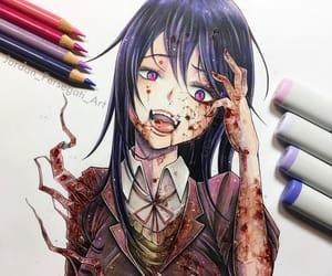 anime girl, art, and fanart image