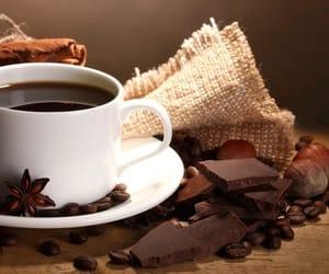 chocolate, Cinnamon, and coffee image