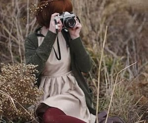 girls, ابداعات, and nature image