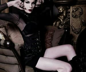 alt model, gothic, and victorian image