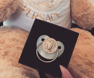 baby, Versace, and kids image