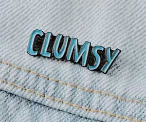 aesthetic, clumsy, and pins image