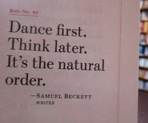 dance, quotes, and think image