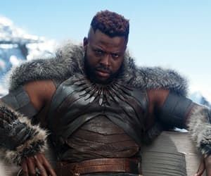 Marvel, winston duke, and m'baku image