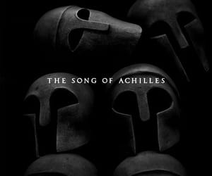 achilles, the song of achilles, and book image