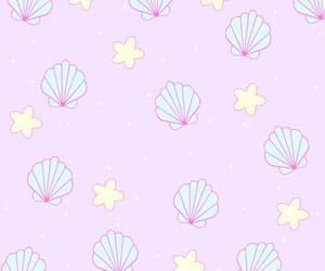 aesthetic, pattern, and mermaid image