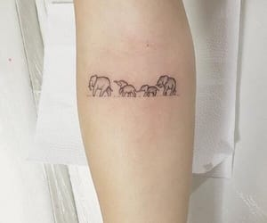 tattoo, elephant, and family image