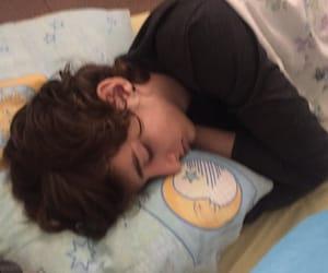 boy, icon, and sleep image