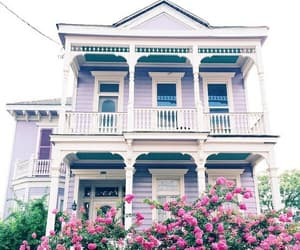 house, home, and purple image