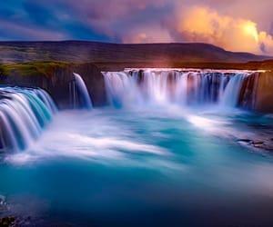 belleza, cascada, and islandia image