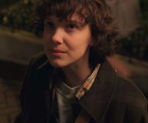 actor, millie, and strangerthings image