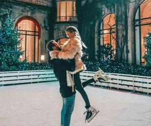 couple, fashion, and skirt image