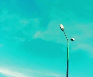 blue, minimalism, and turquoise image