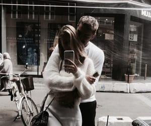 couple, love, and fashion image
