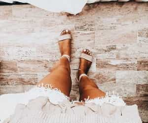 beige, fashion, and tan image