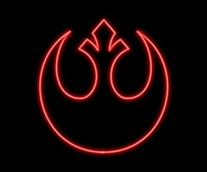 neon and star wars image