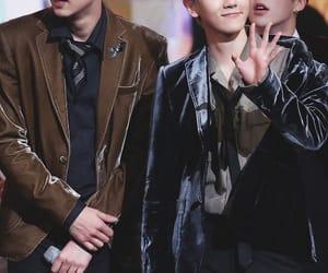 boys, baekyeol, and kpop image