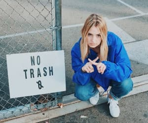 blondie, girl, and trash image