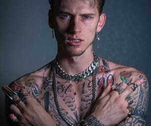 boy, daddy, and Tattoos image