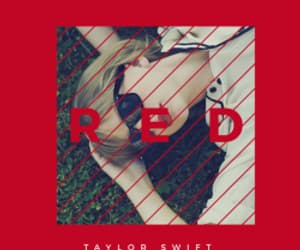 aesthetic, red, and Taylor Swift image