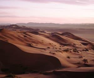 landscape, nature, and sand image