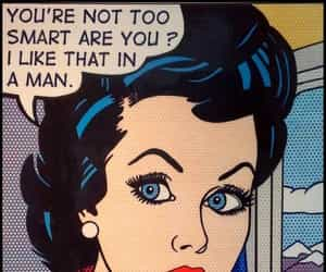 comic, pop art, and woman image
