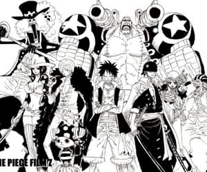 brook, one piece, and franky image