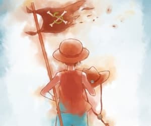 one piece, sabo, and monkey d. luffy image