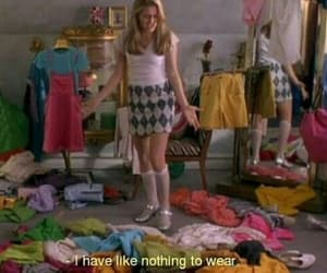 Clueless, clothes, and grunge image