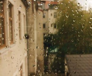 indie, rain, and window image