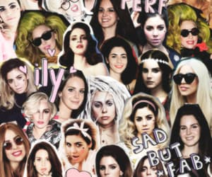 Collage, marina and the diamonds, and lana del rey image