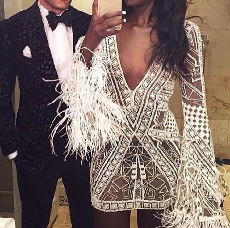couple, dress, and luxury image