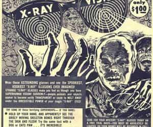comics, glasses, and pulp art image