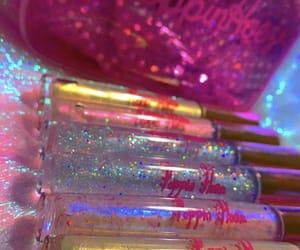 glitter, poppin, and lip gloss image