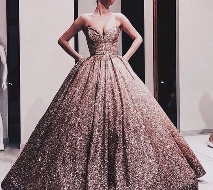 aesthetic, dresses, and Prom image