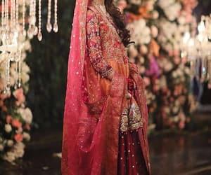 bride, gold, and orange image