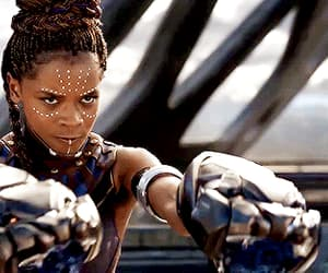 black panther and gif image