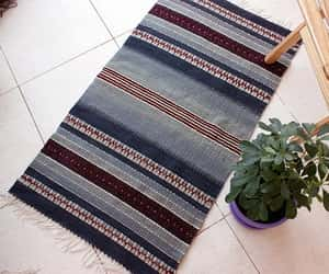 boho, etsy, and handwoven rug image