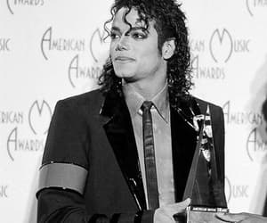 80s, black and white, and michael jackson image