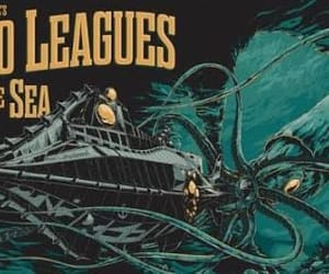 50s, disney, and 20000 leagues under the sea image