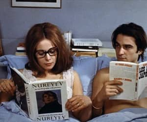 60s, couple, and french image