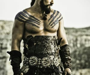 game of thrones, khal drogo, and jason momoa image