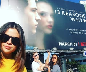 selena gomez, 13 reasons why, and alisha boe image