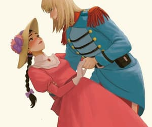 anime, art, and howl's moving castle image