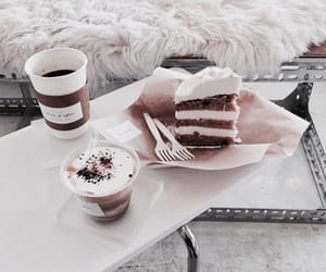 aesthetic, food, and brown image