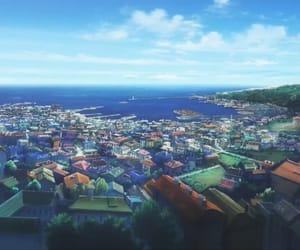 anime, scenery, and screenshot image
